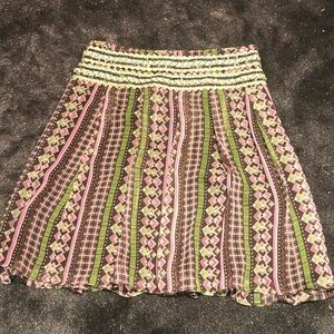 Free People sequin NWT skirt